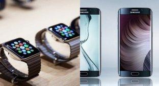 10 апреля Apple Watch может затмить Galaxy S6