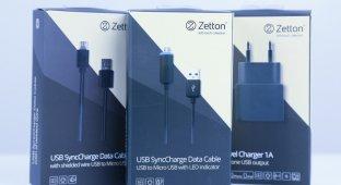 Аксессуары Zetton: заряди свой Android полностью
