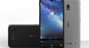 Nokia 2.2 — аккуратный вырез и «чистый» Android